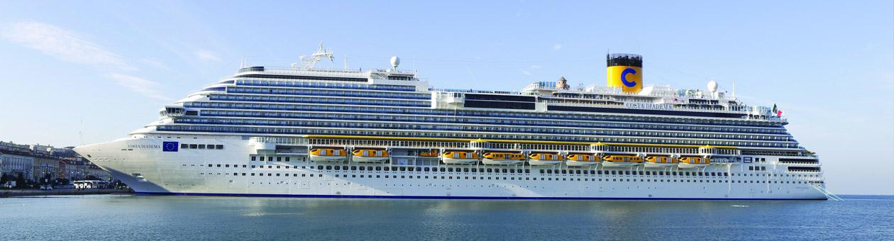 Cruceros familia numerosa: costa diadema