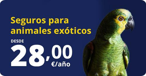 contrata seguro animales exoticos
